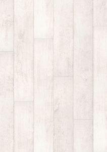 classic quick step CLM1290 tik biely bielený